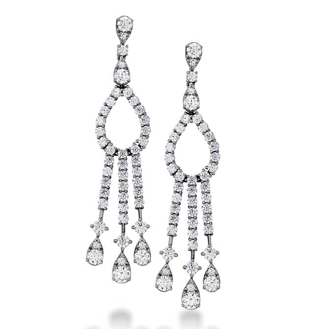 Flont Hearts on Fire Aerial Elegance chandelier earrings