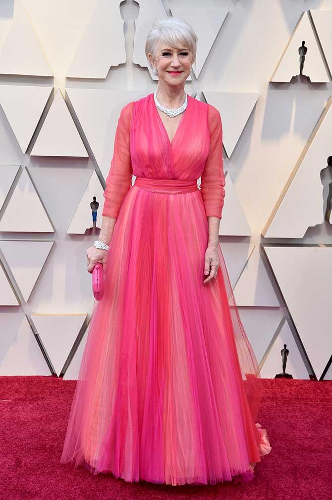 Helen Mirren 2019 Oscars