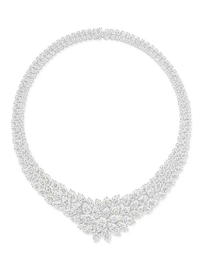 Helen Mirren Oscars diamond necklace