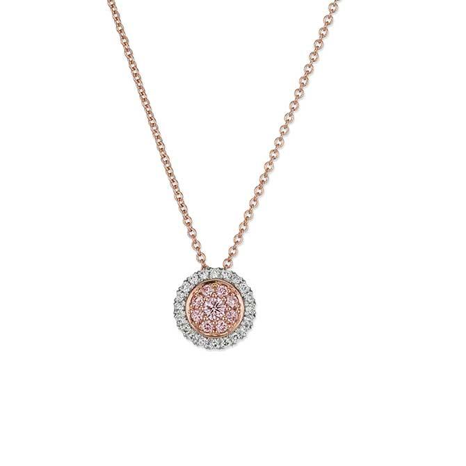 JFine Argyle diamond pendant