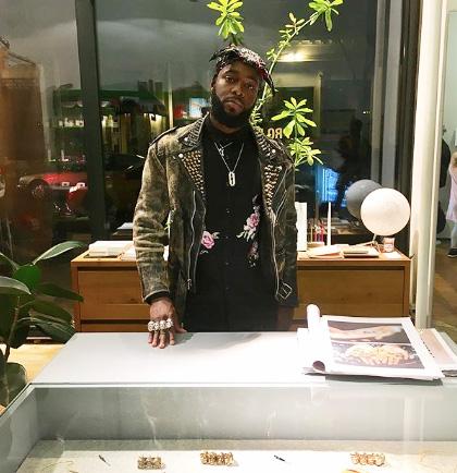 Johnny Nelson jewelry designer