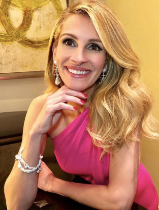Julia Roberts Cindy Chao jewelry