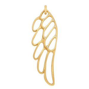 Linda Lee Johnson gold pendant