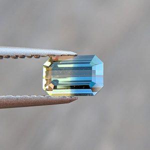 Mercurious bicolor sapphire