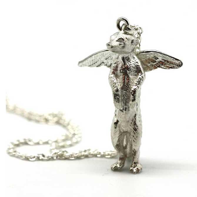 Natalie Hoogeveen meerkat pendant