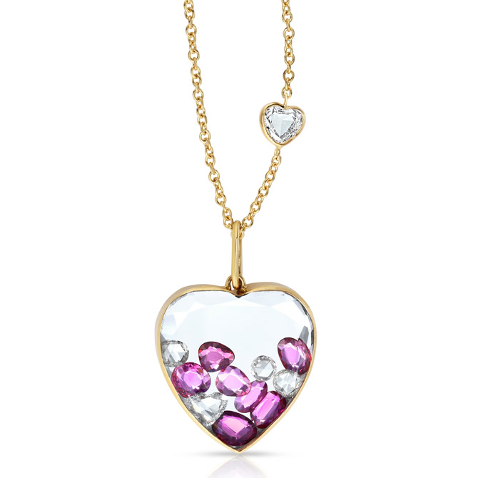 Moritz Glik heart pendant