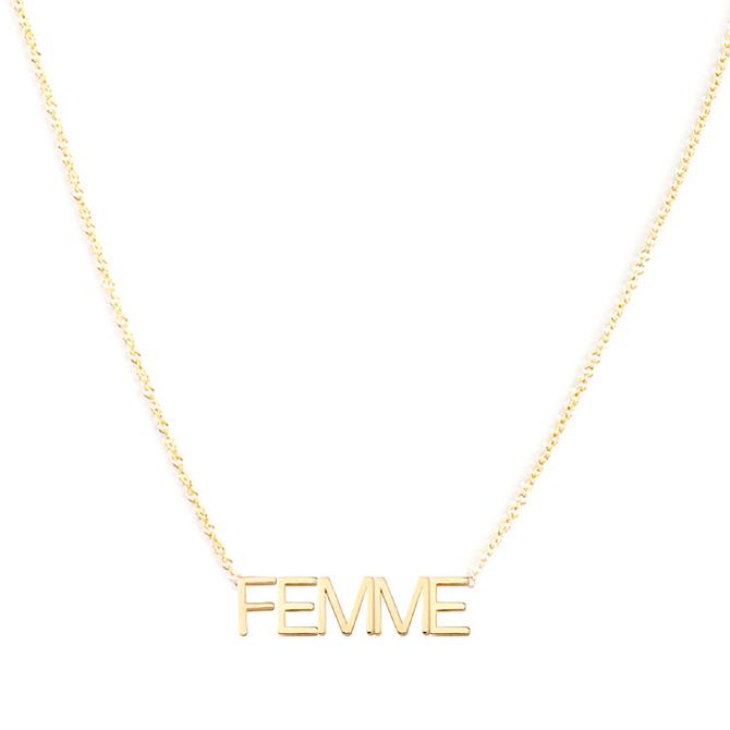 Maya Brenner Femme necklace