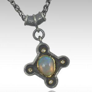 Michael Jensen In the Light opal pendant