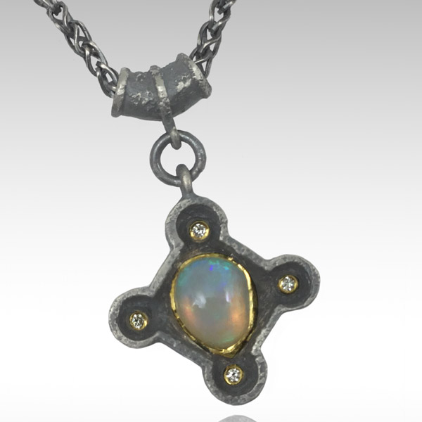 Michael Jensen In the Light opal pendant