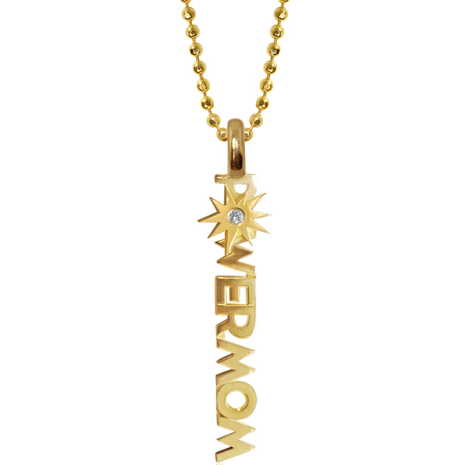 Alex Woo Little Power Mom necklace