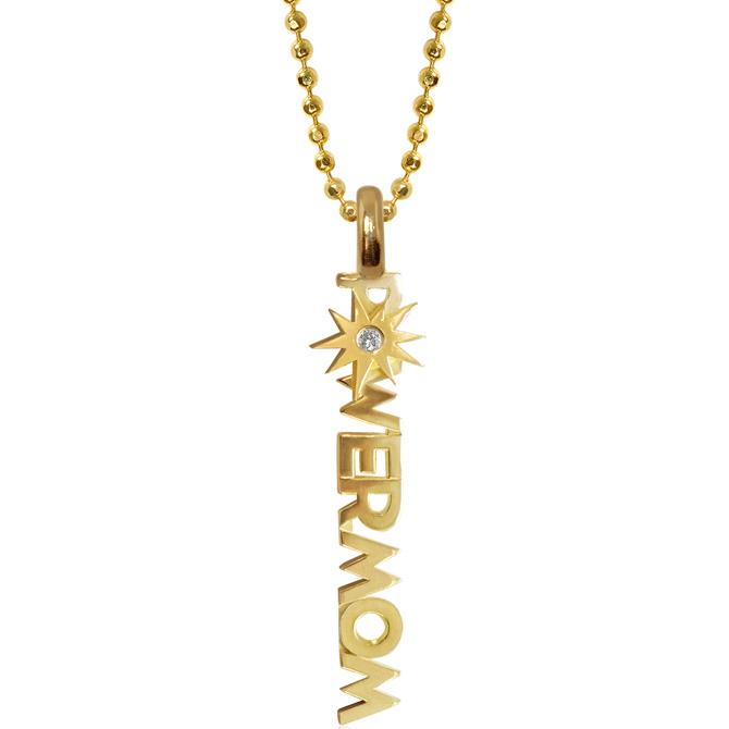 Alex Woo Little Power Mom necklace
