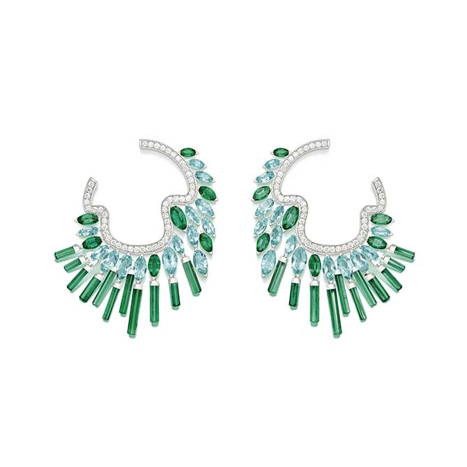Piaget Night Illusion earrings