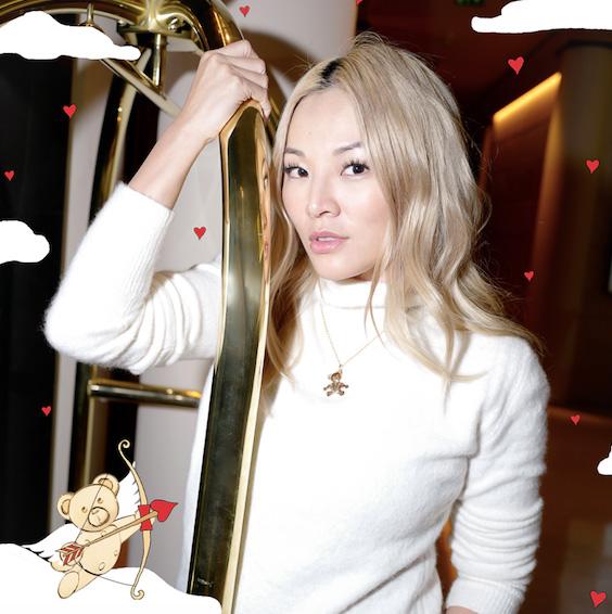 Pomellato Orsetto pendant Tina Leung