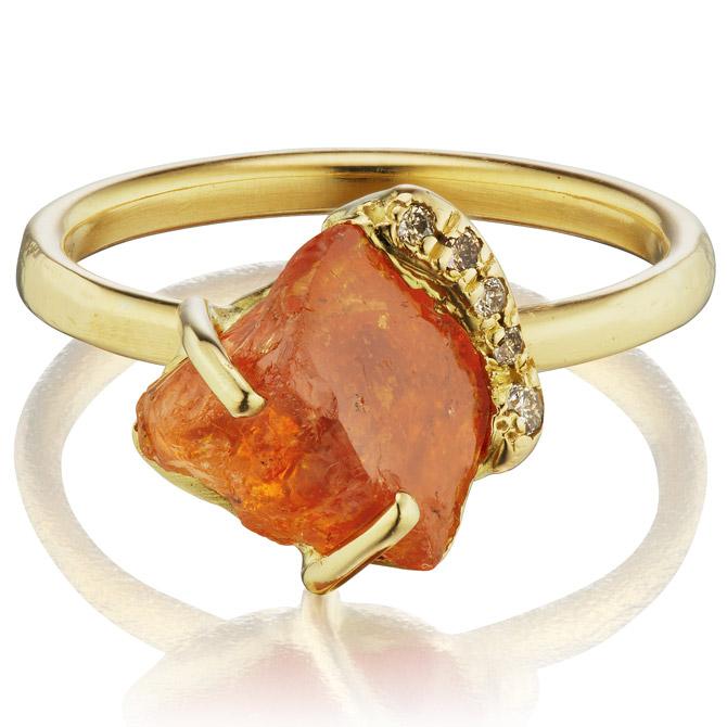 Debra Navarro Gee garnet ring