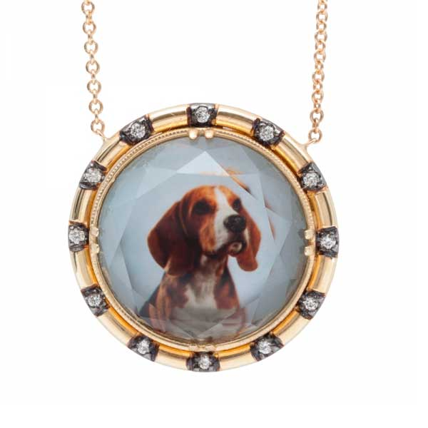 Spencer Fine Jewelry Dog Portrait