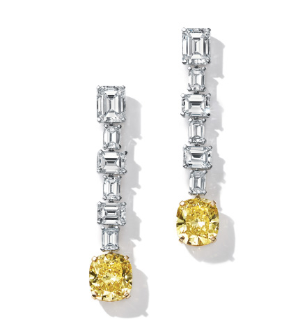 Tiffany Lady Gaga Oscar earrings