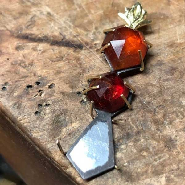 On Tuesdays We Wear Hessonite Garnets (à la Whitney Abrams