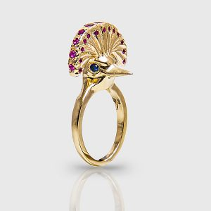 Emetti queen bird ring