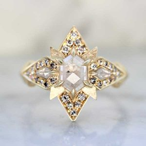 Aimee Kennedy diamond ring