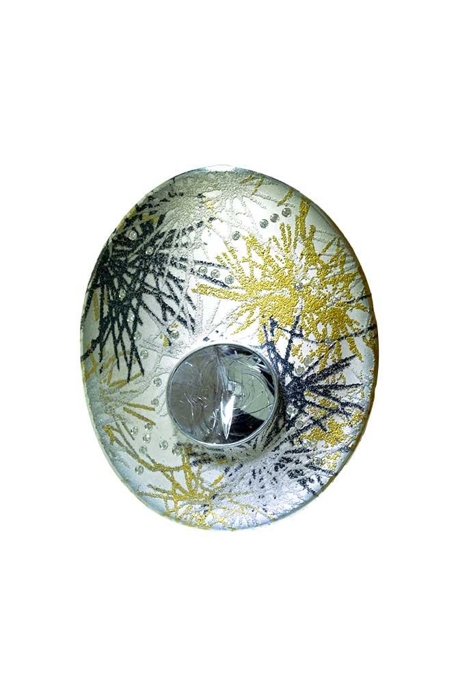 Atelier Zobel snowflake brooch