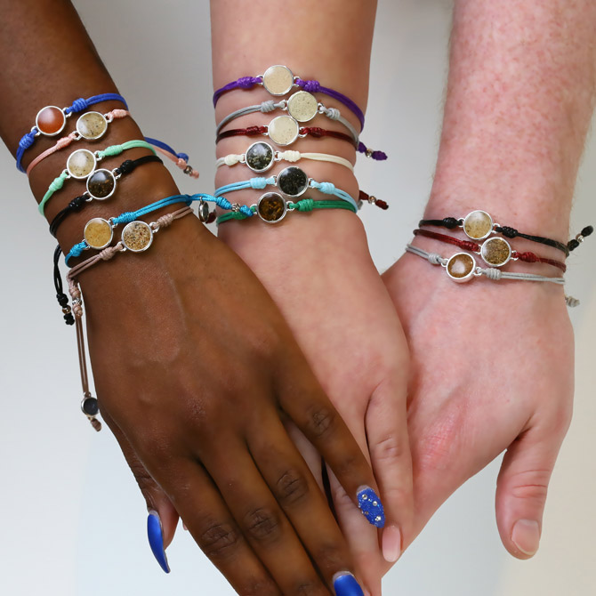 Dune Jewelry Touch the World bracelets