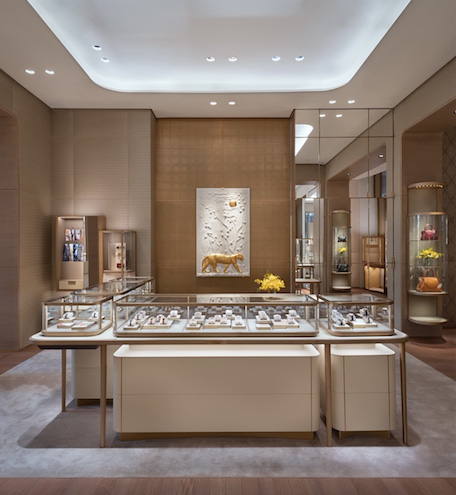 Cartier Hudson Yards panther