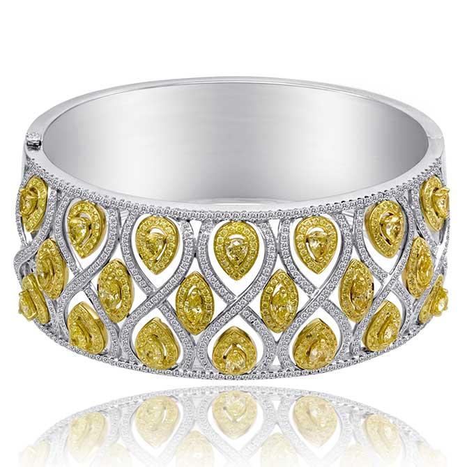 Cirari yellow diamond bracelet