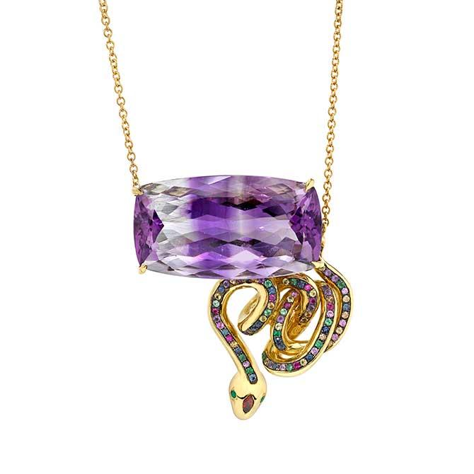 Daniela Villegas Candelaria necklace