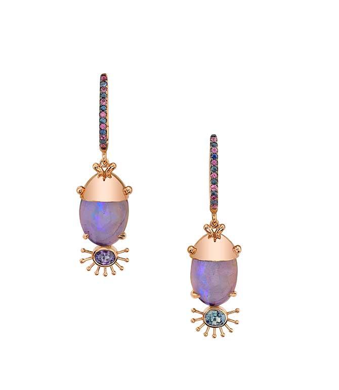 Daniela Villegas Colacion earrings