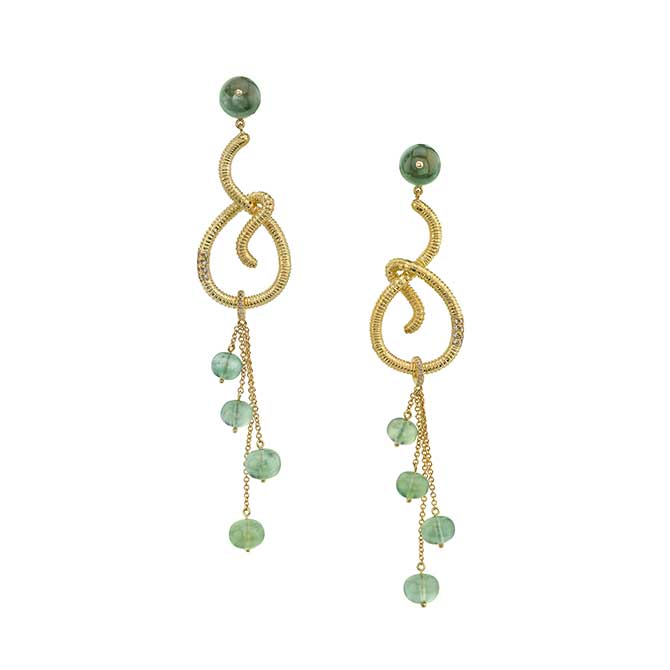 Daniela Villegas Gusano earrings