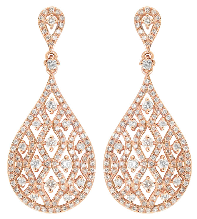 Dinaro diamond earrings