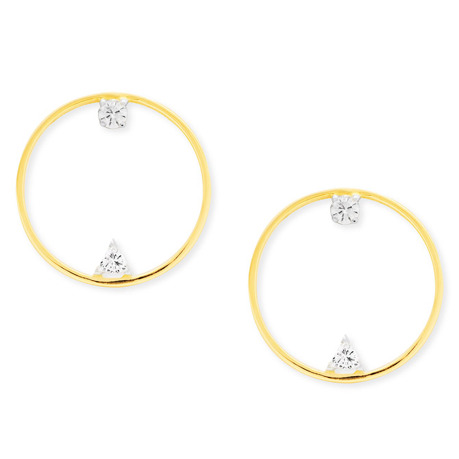 Swati Dhanak Floating Orbit earrings