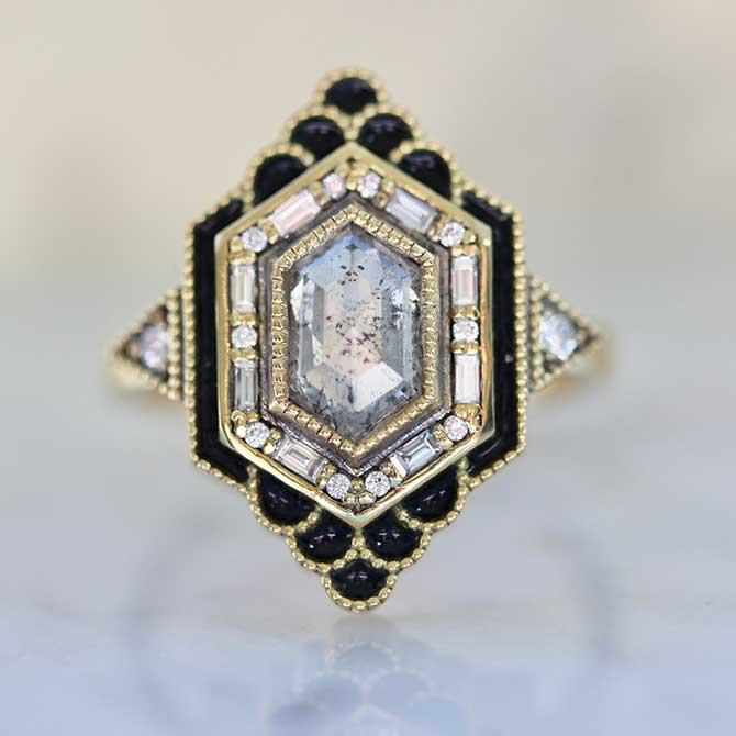Emily Gill diamond ring