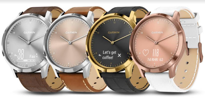 Garmin Debuts Premium Models of Its Popular Vívomove HR Hybrid