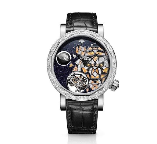 Graff tiger watch