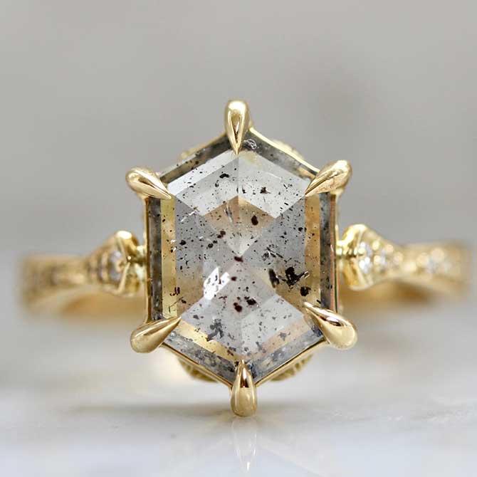 Jenny Norman diamond ring