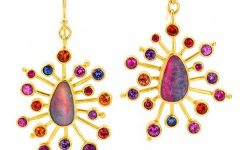 Linda Hoj opal earrings