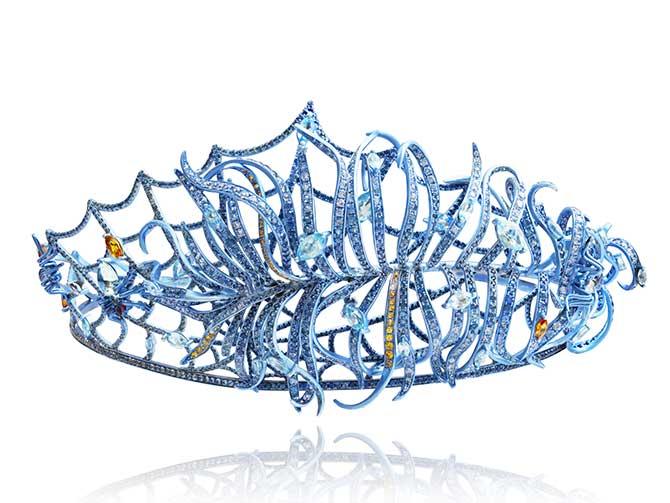 Lydia Courteille Marie Antoinette tiara