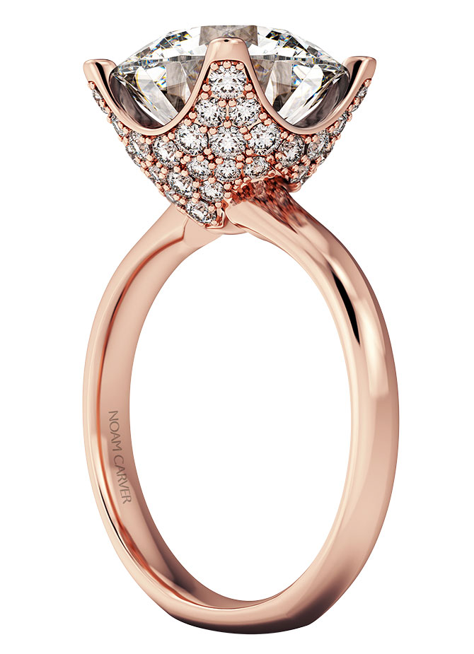 Noam Carver Crown Ring bridal