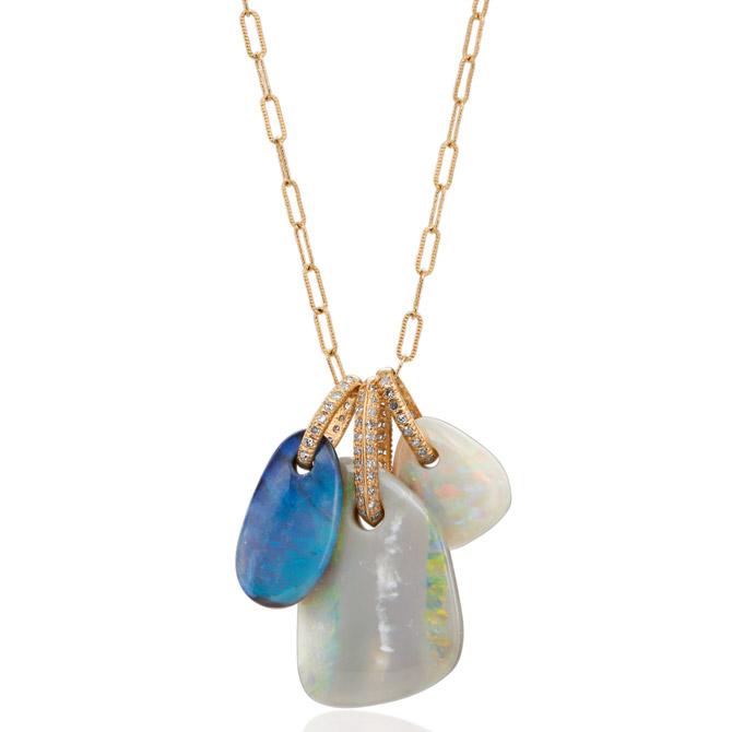 Just Jules opal Charming pendants