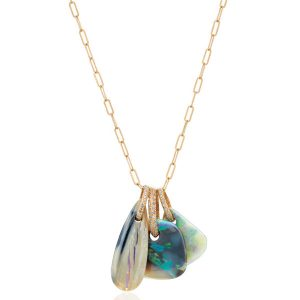 Just Jules Charming opal pendants