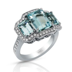 Yael Designs aquamarine ring