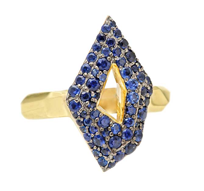 Rush Jewelry Design Icon Victoire sapphire ring