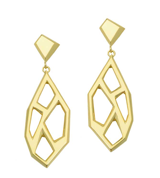 Rush Jewelry Icon Victoire drop earrings