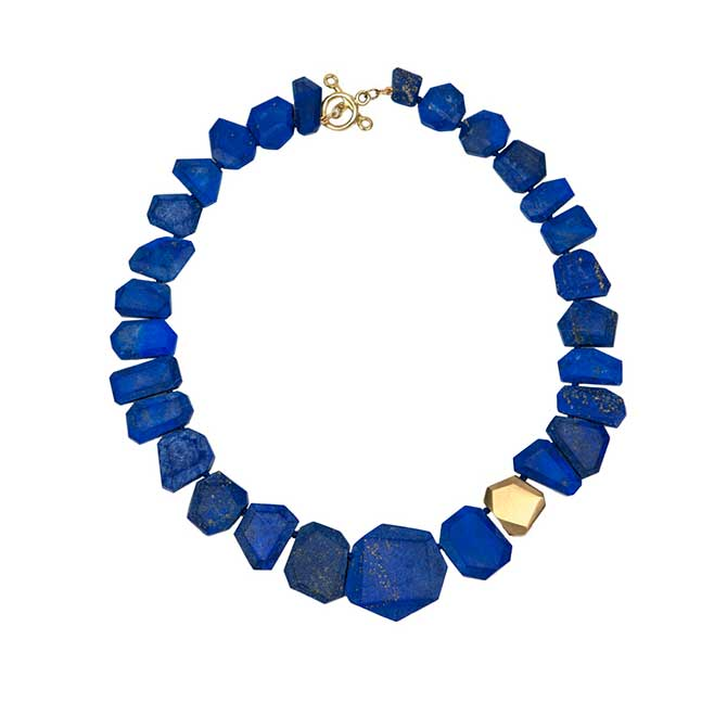 Rush Jewelry lapis necklace