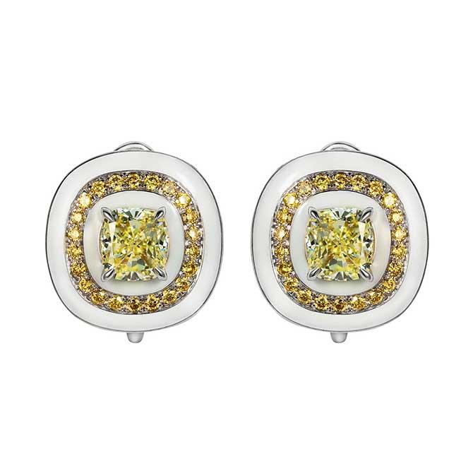 Sarah Ho Candy Yellow diamond Earrings