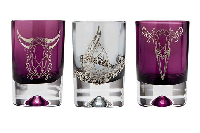 Stephen Webster shot glass group
