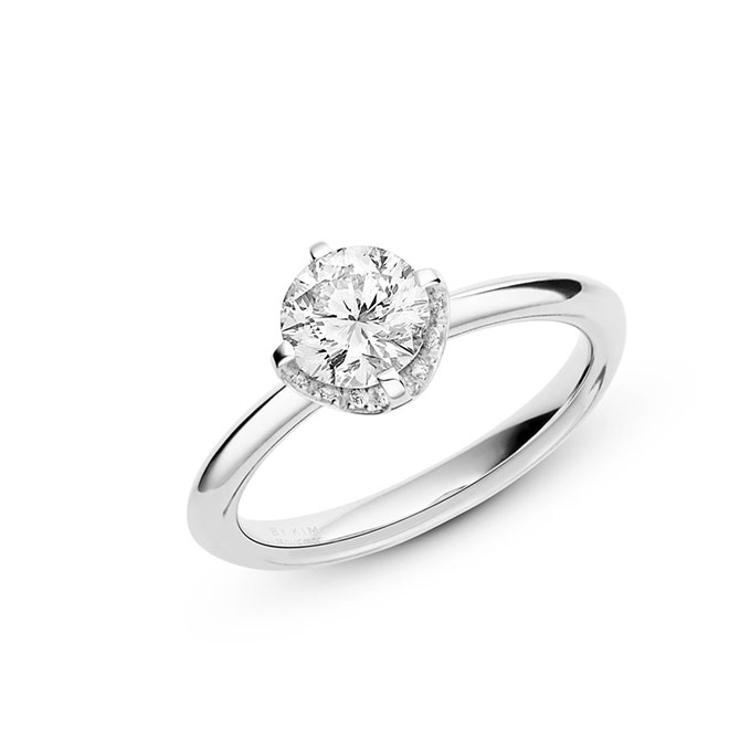 Wempe Cut engagement ring