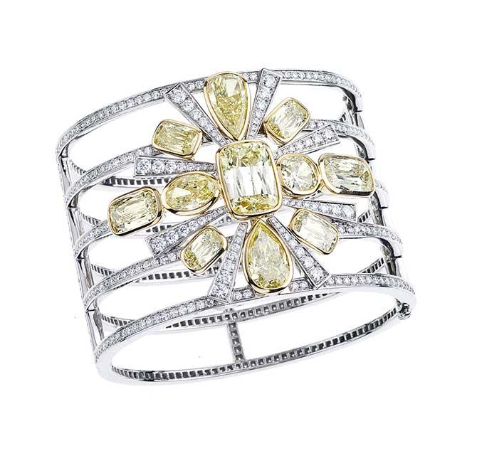 Wempe yellow diamond bracelet