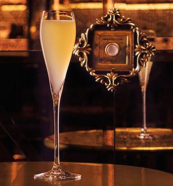 champagne at rosina